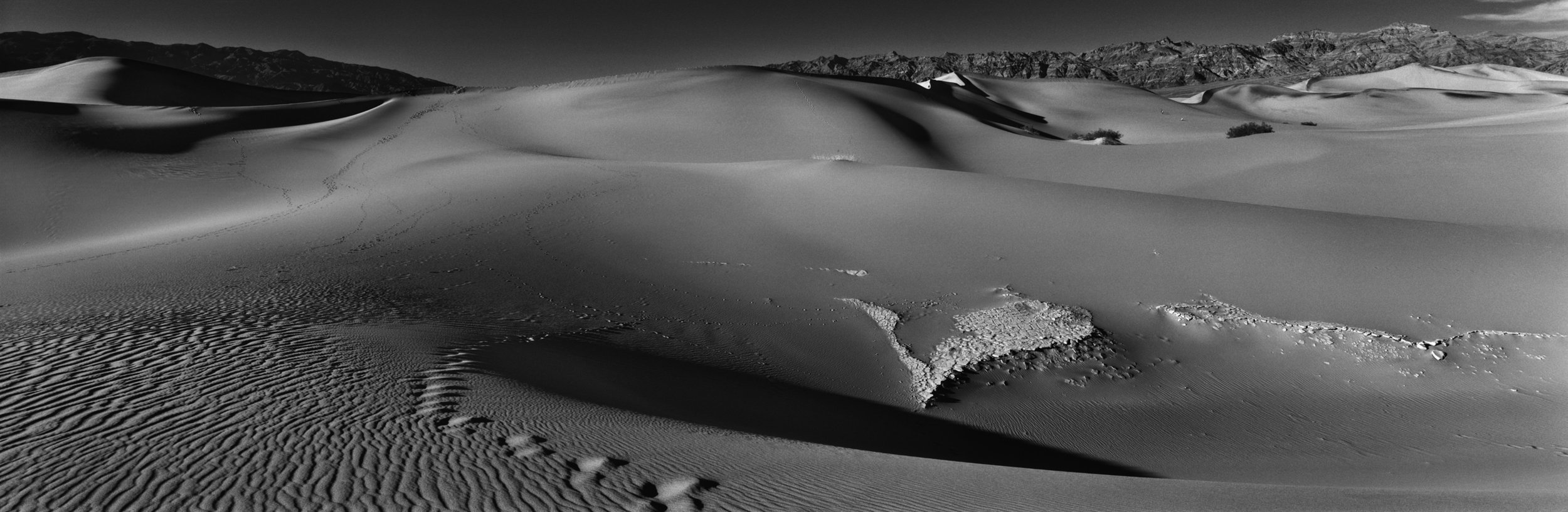 Mesquite Sand Dunes- Death Valley National Park, California and Nevada