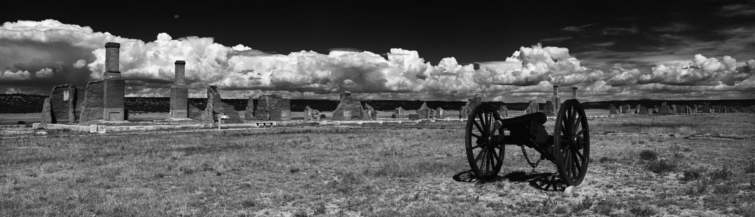 Cannon/ Officers Quarters-  Fort Union National Monument, New Mexico