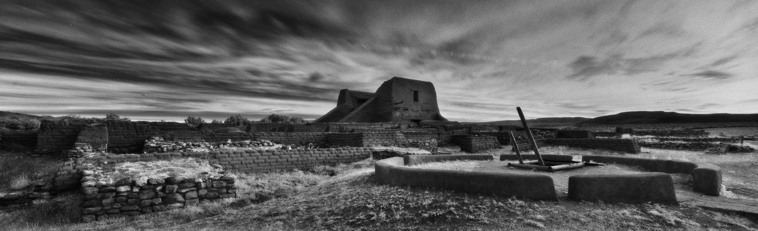 Mission and Convento/ Kiva- Pecos National Historical Park, New Mexico