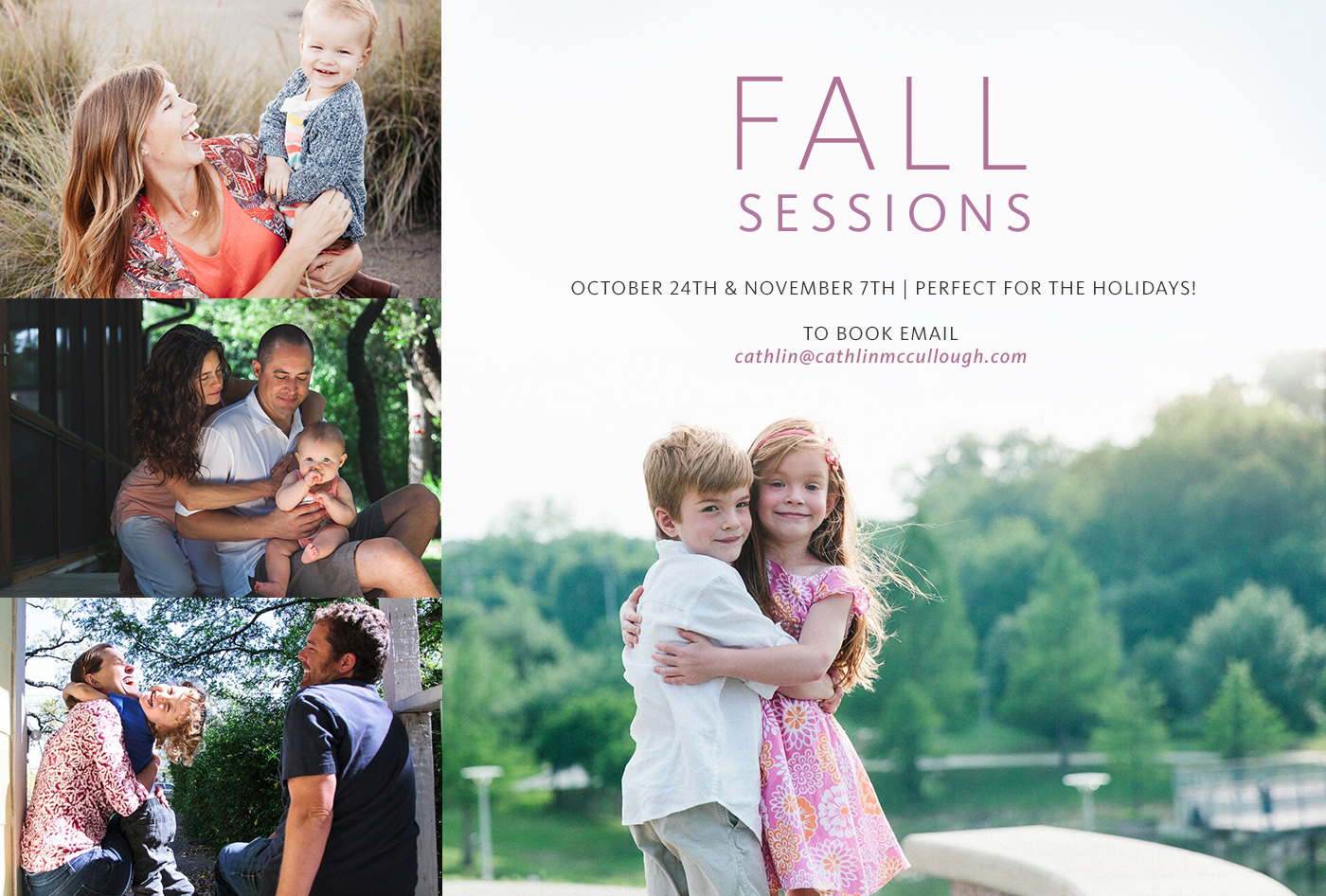 Austin Photographer Fall Sessions