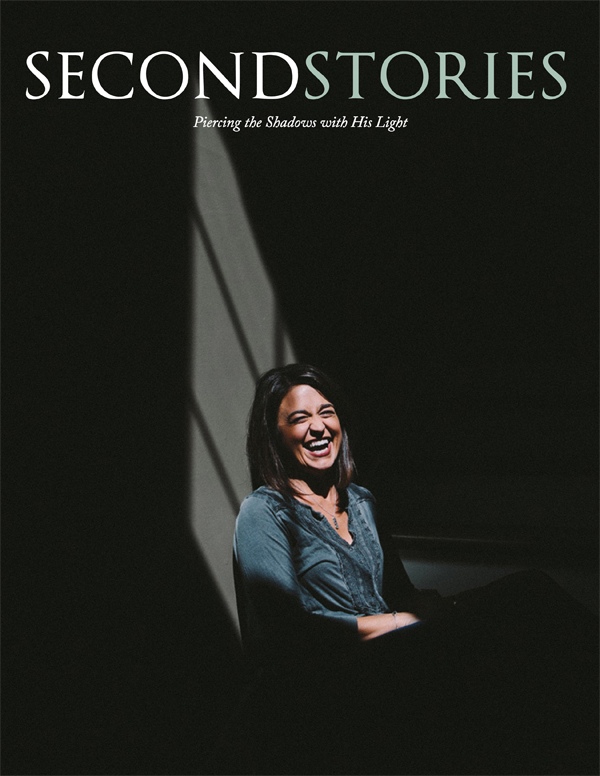 50 stories from 50 women who have found the light of Christ     in the midst of darkness.