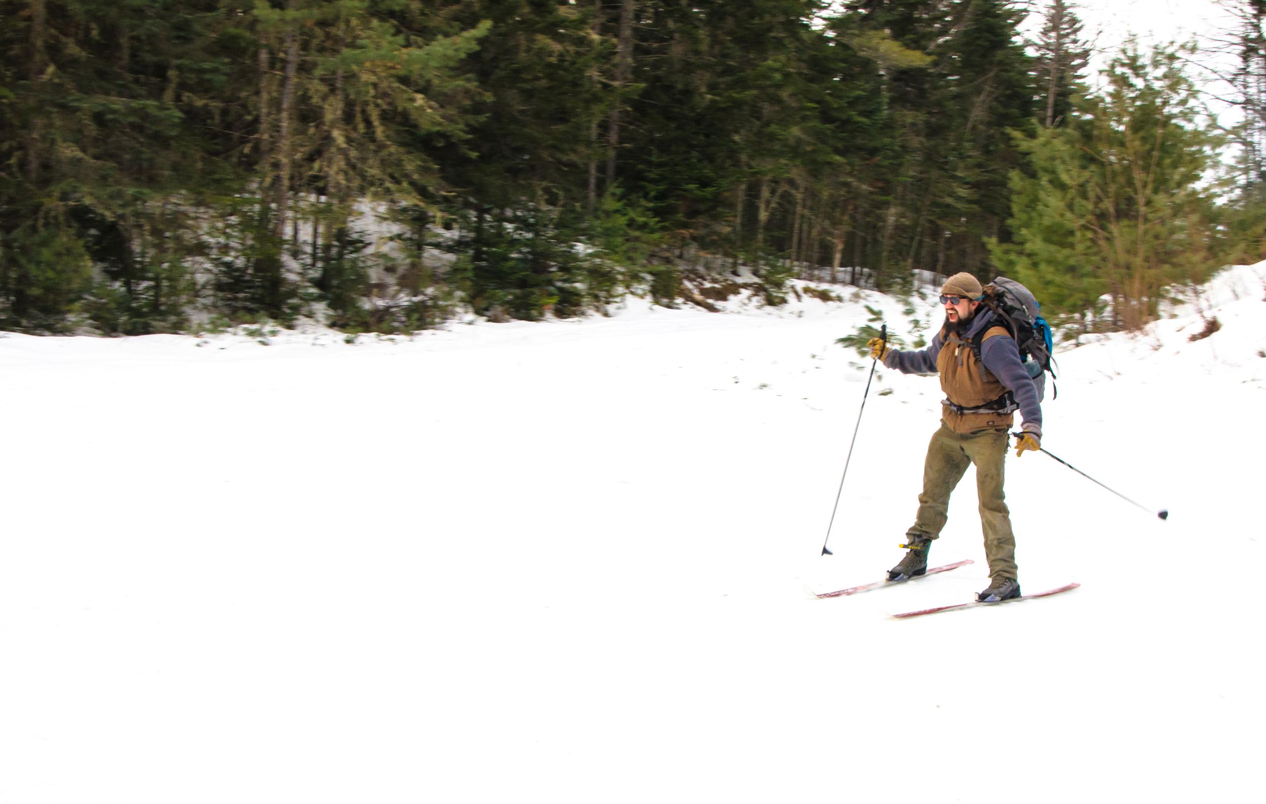 Bigelow Mountains, Maine, USA January 2015