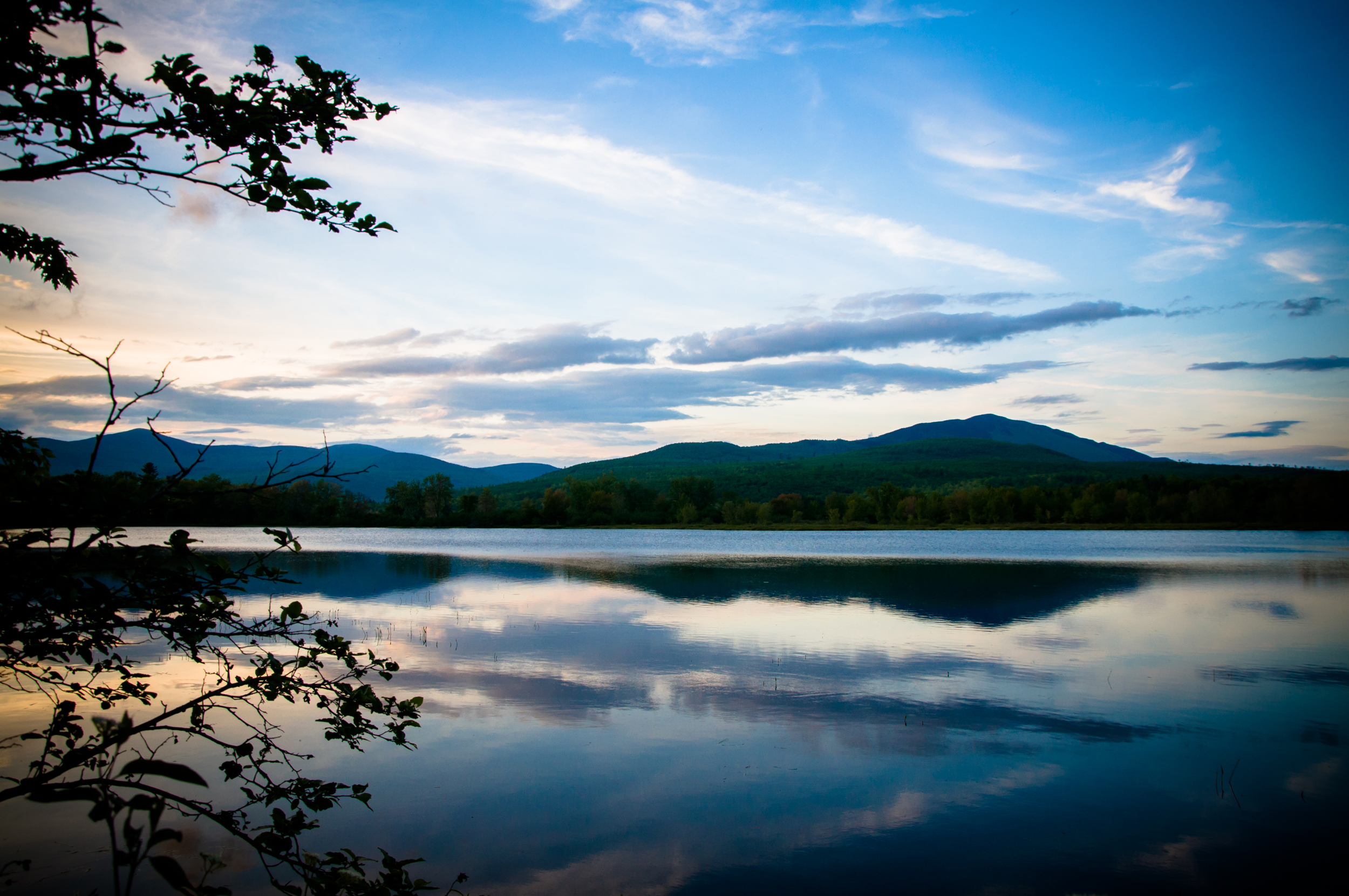 Sunrise Pond, Gulf Hagas, Maine, USA May 2015