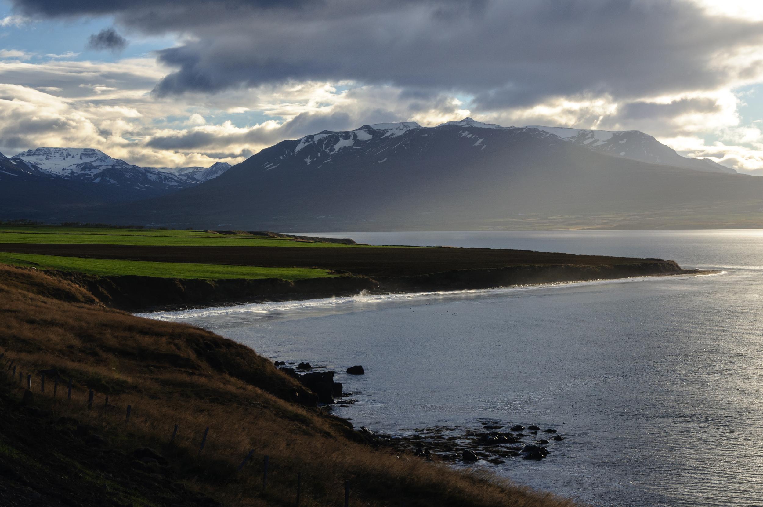 Traveling near Akureyri,Iceland October 2015