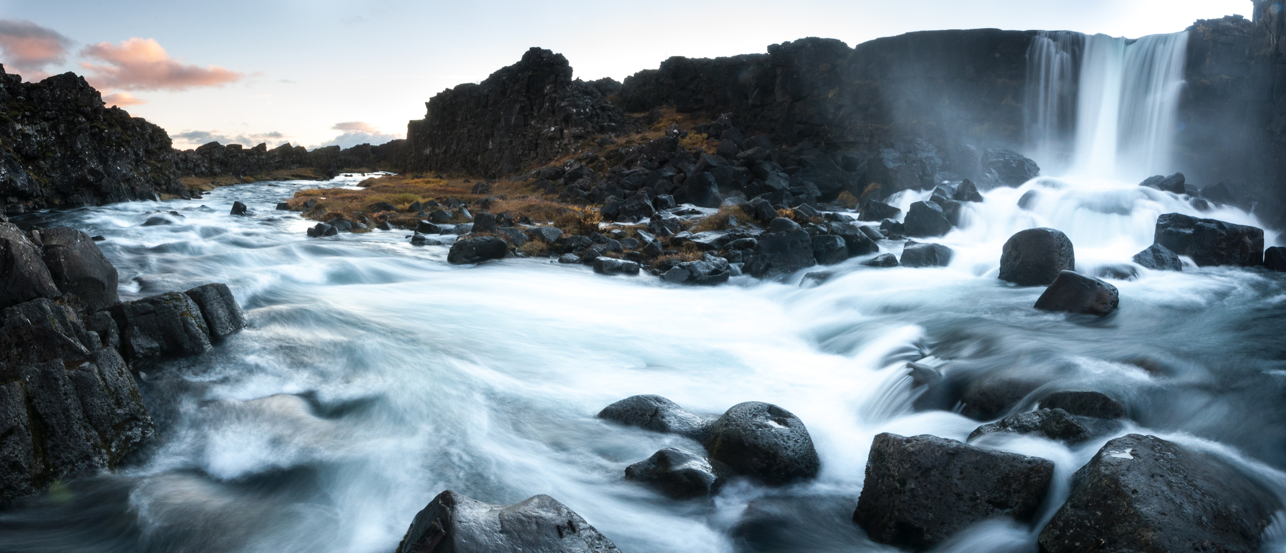 Öxarárfoss, Þingvellir National Park, Iceland October 2015