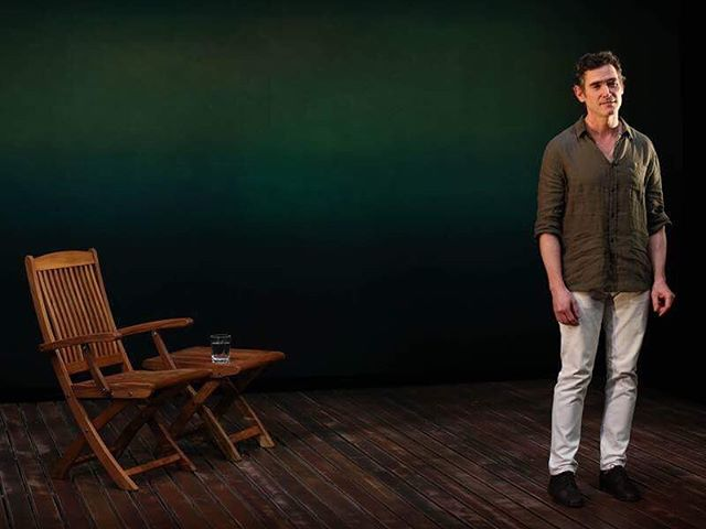 Following a twice-extended world premiere at the @vineyardtheatre last fall, the critically acclaimed solo show Harry Clarke returns for a limited engagement Off-Broadway at the Minetta Lane Theater. Don't miss this fantastic production Associate Directed by our very own Artistic Director @sherbearstares!  #OffBroadway #HarryClarke #SoloShow #Theatre #theatrelife #director #artisticdirector #RicohetFamily