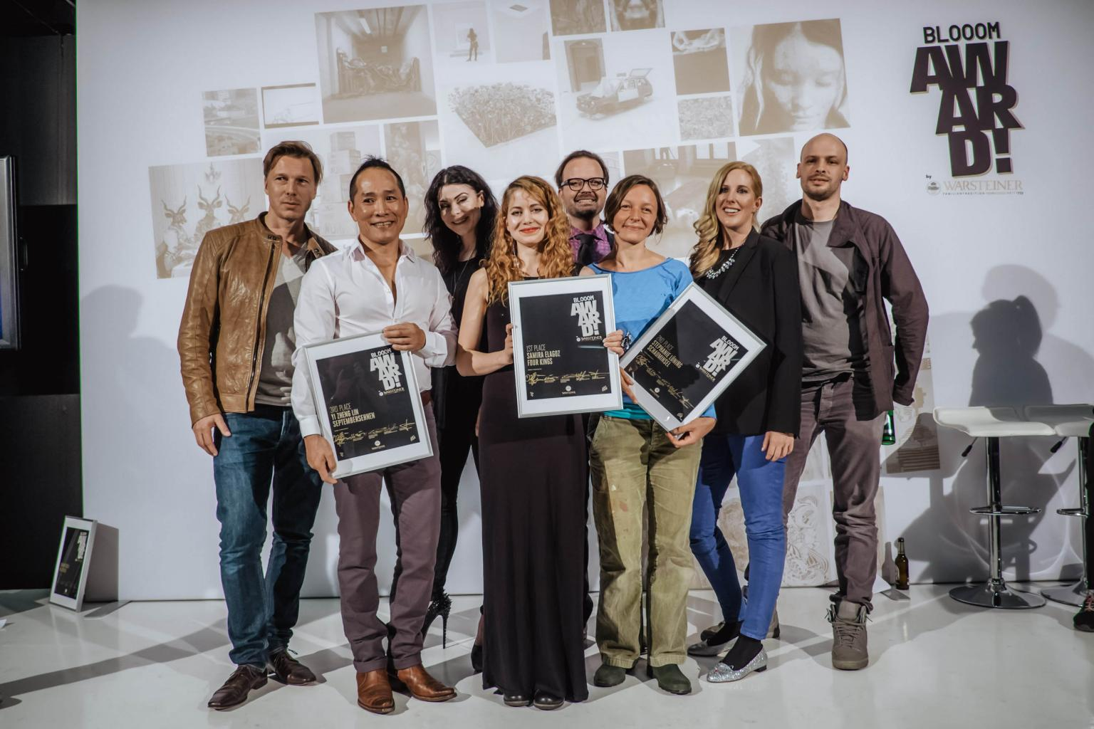 Visual art competition Blooom Award 2014 at Art.Fair Cologne