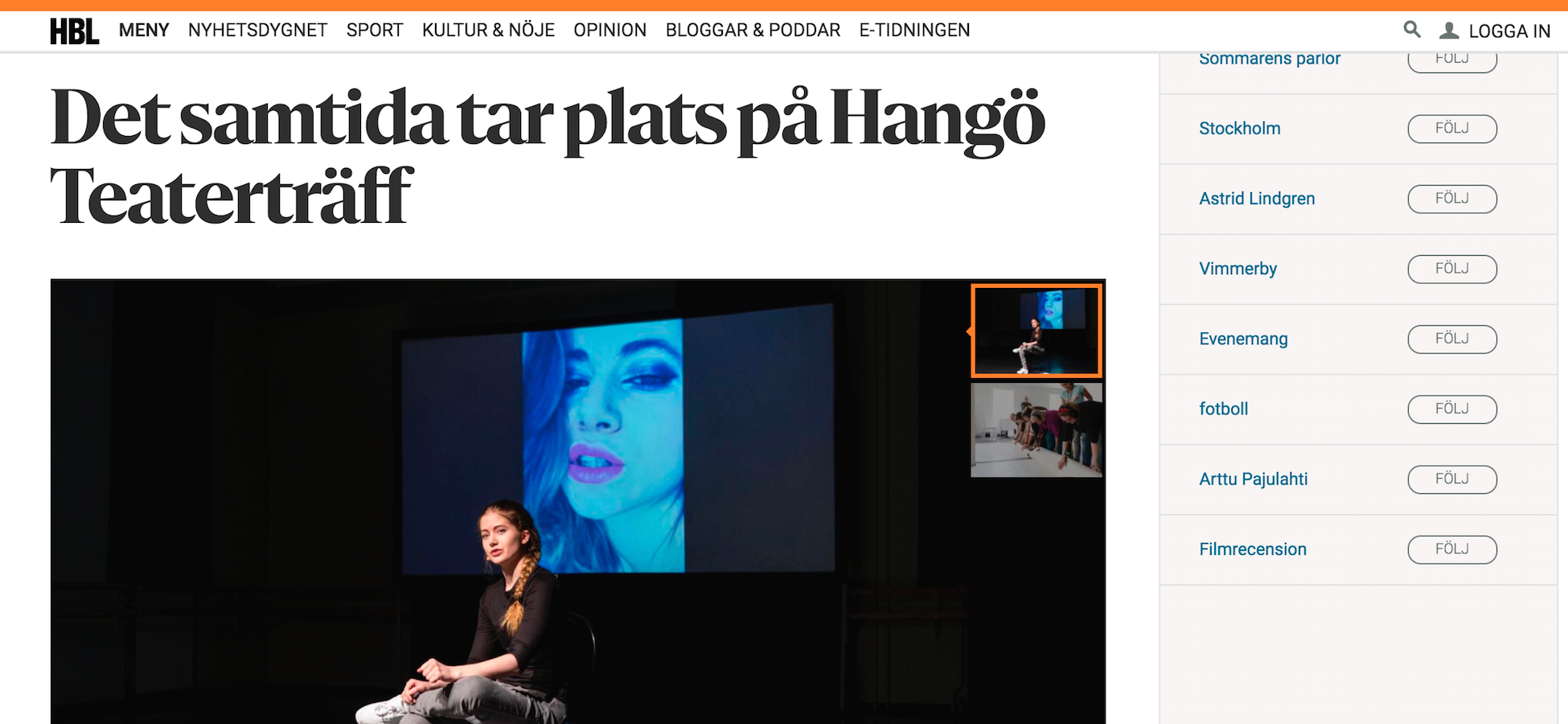"️️Review: ""Hisnande"" says the Swedish-language newspaper in Finland"
