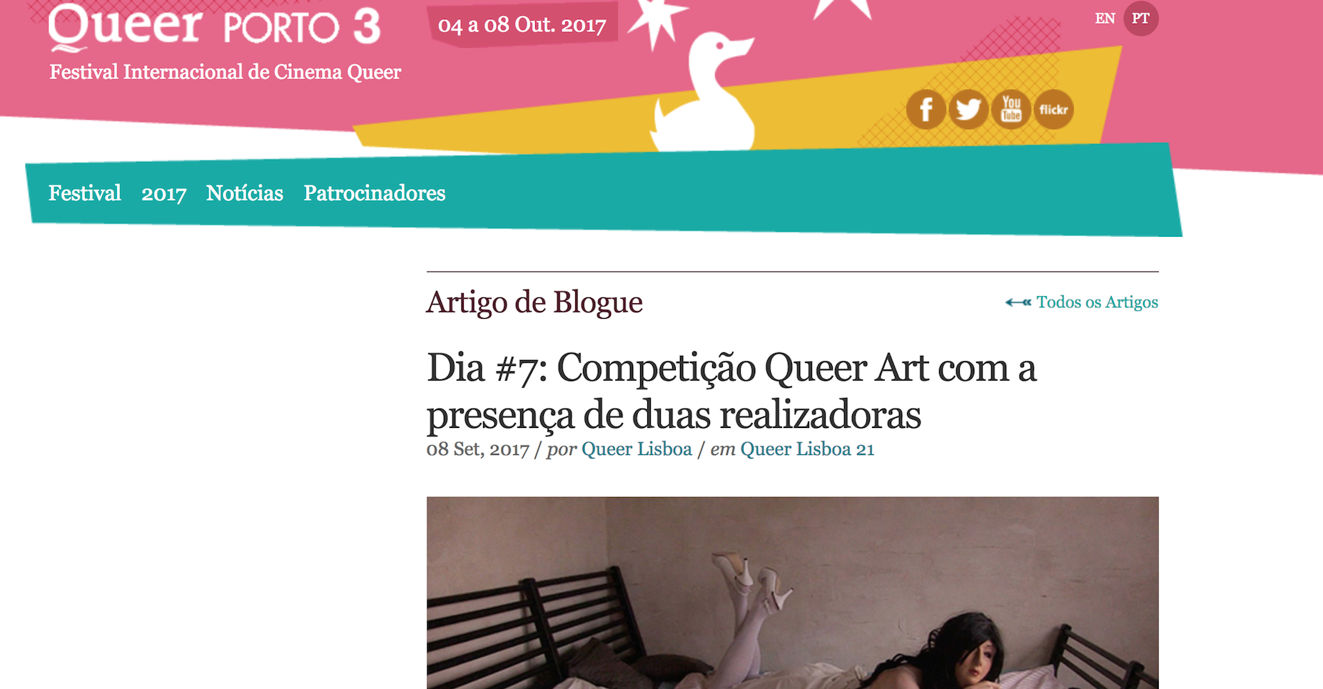 Craigslist Allstars at QueerLisboa 21st of September in the QueerArt Competition    & Queer Porto 4th of October