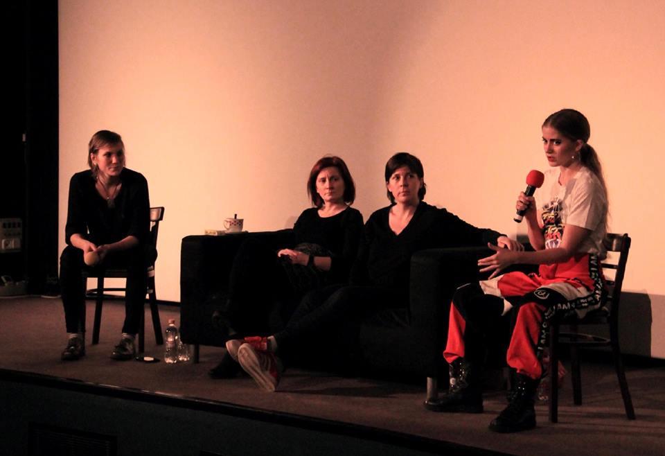 Panel on female gaze at Budapest