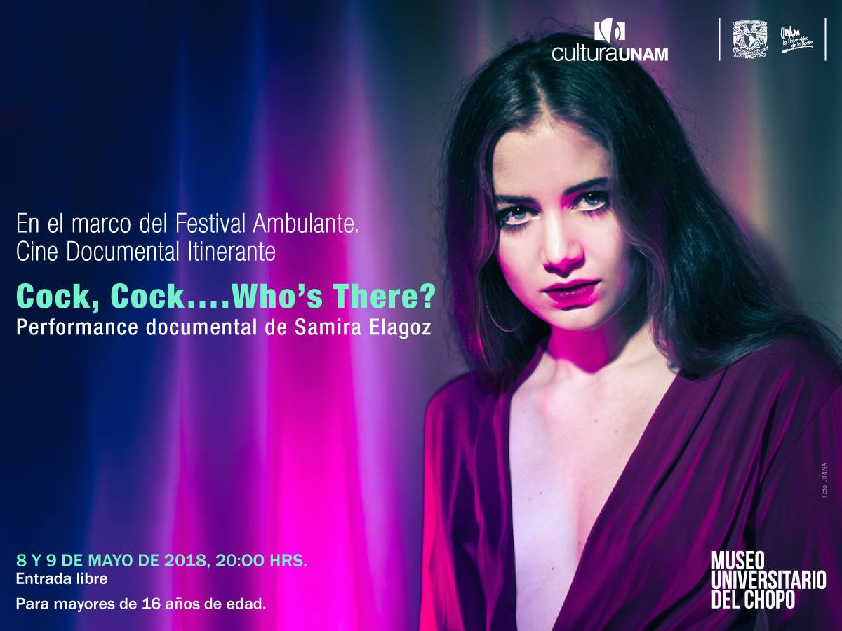 Mexico City 🇲🇽 so happy to be performing Cock, Cock.. at the    Ambulante   film festival. 8th & 9th of May 8pm at    Museo Universitario del Chopo, UNAM