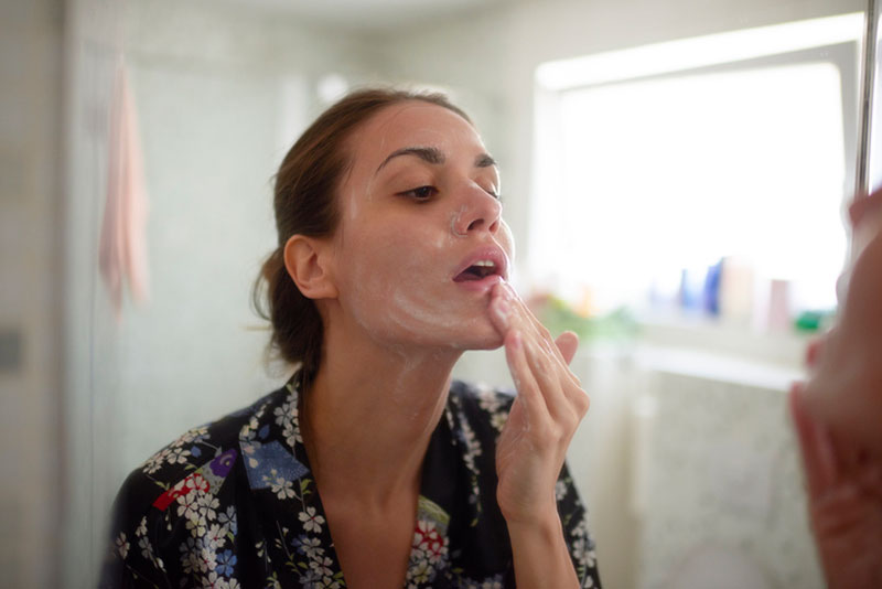 tips to proper skincare face washing