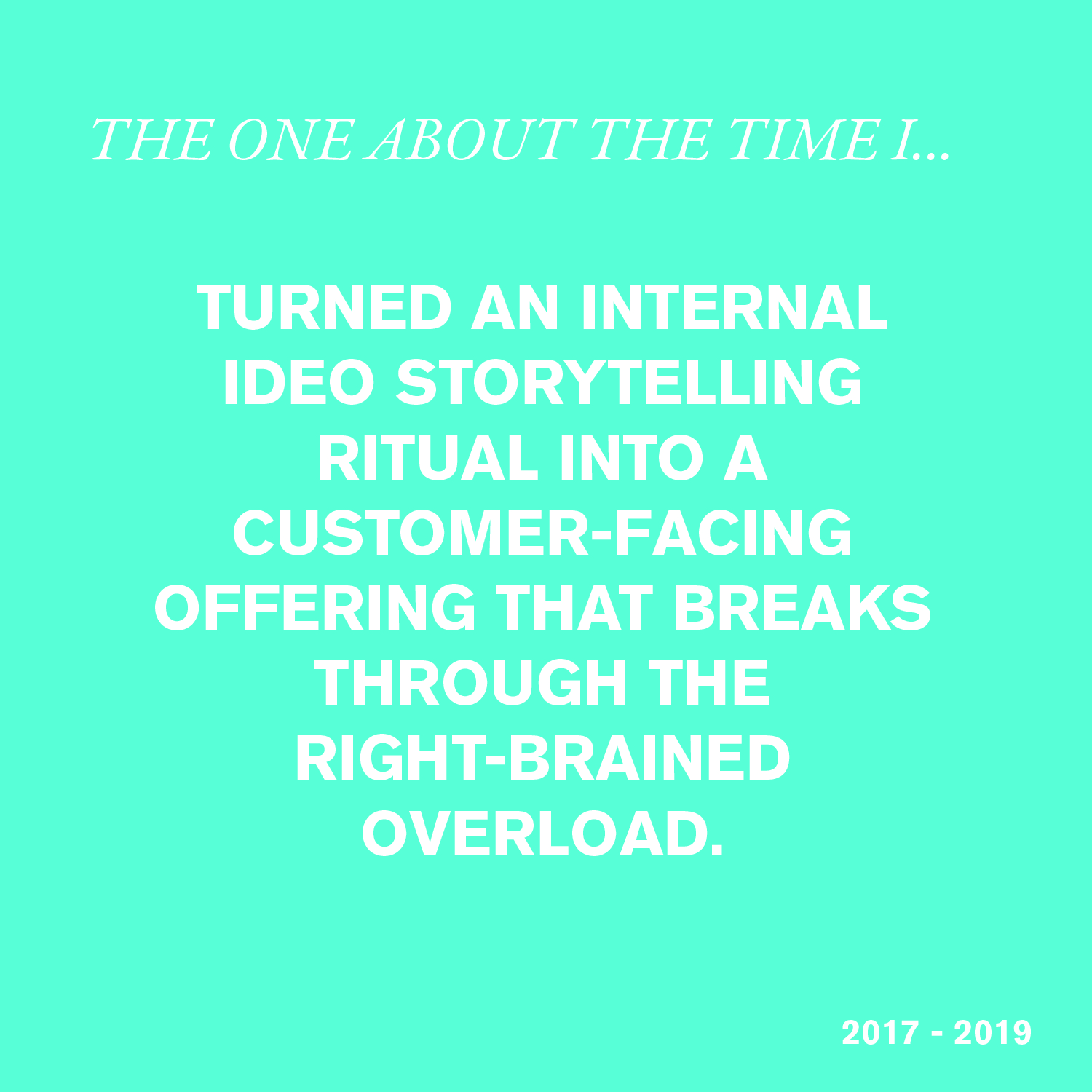 IDEO Stories