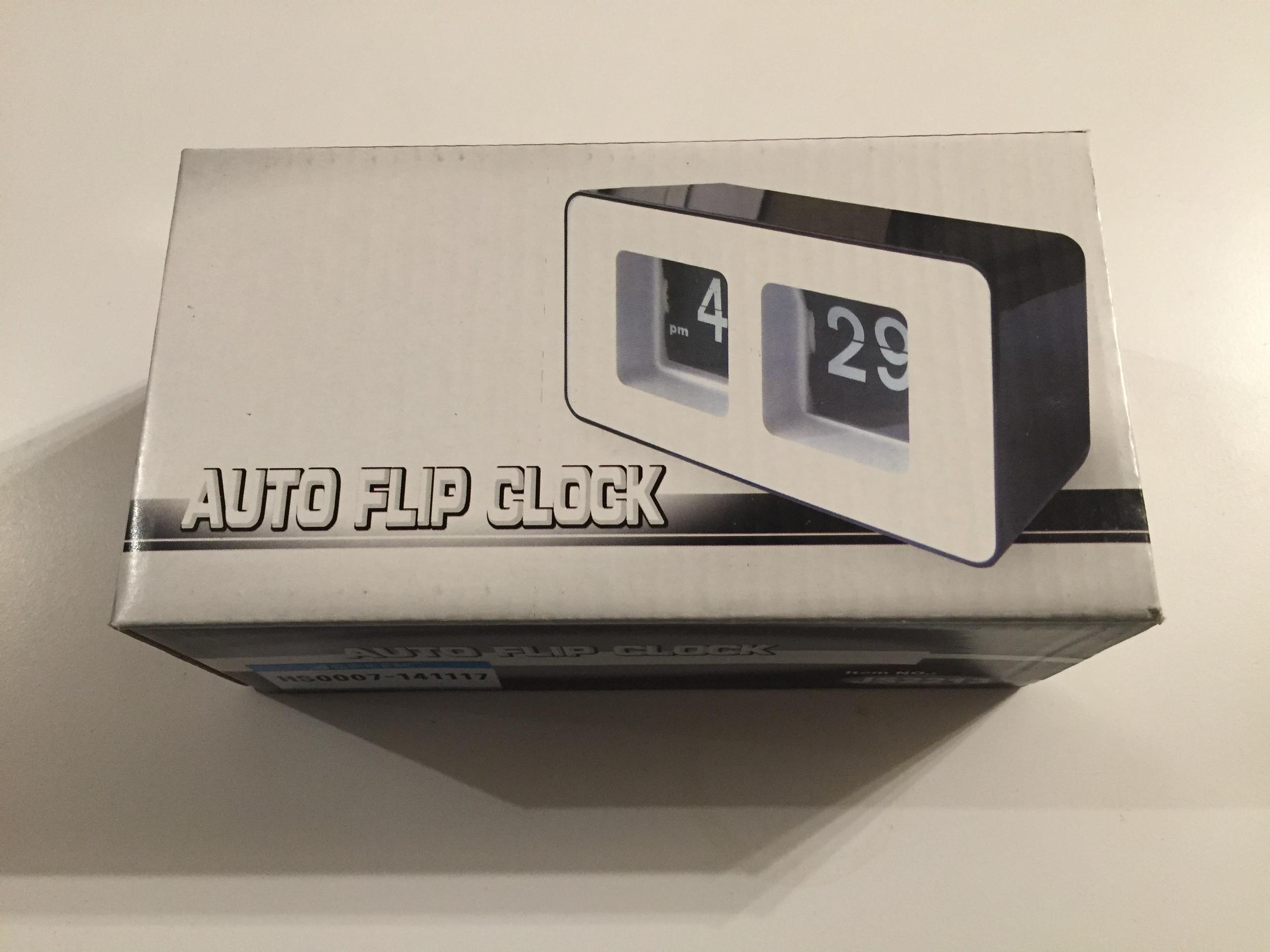A cheap split-flip display