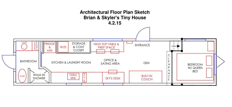 Brian & Skyler Thomas Wandering On Wheels Arch Floor Plan