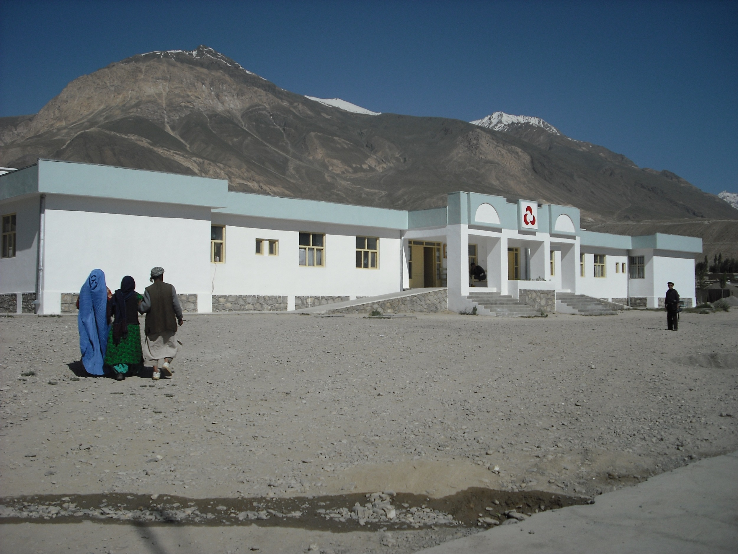 The Aga Khan Health Services Clinic in Afghan Badakhshan.  In the film, Bridging the Divide, Dr. Shirinbek visits this clinic and is extremely impressed with its technology.  Since the making of the film, Dr. Shirinbek has begun to work here; the clinic collects its most difficult surgeries and Dr. Shirinbek periodically travels to Afghan Badakhshan to perform them.