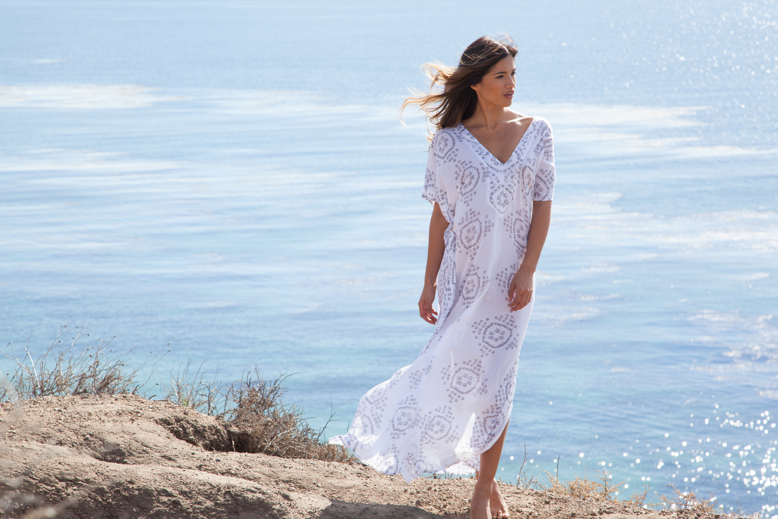 VSP Studios Lookbook E-Commerce Fashion Photography. Bohemian beach look Resort wear