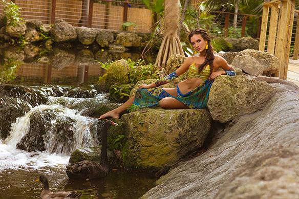 Miami Photographer, Fashion Photographer, Jungle Island, Miami Model, Models, Fashion, Nature, Travel, Miami, Gabriella Katia, VSP Studios, Victor Sanabrais Photographer,