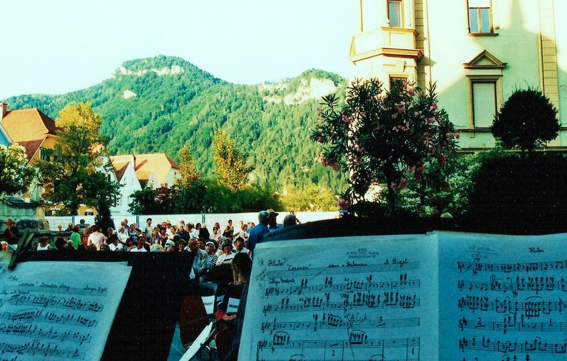 Habanera in the mountains, Austria