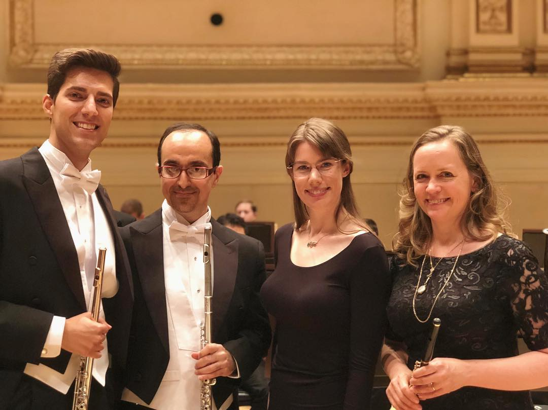 MET Orchestra Flute Section, Carnegie Hall