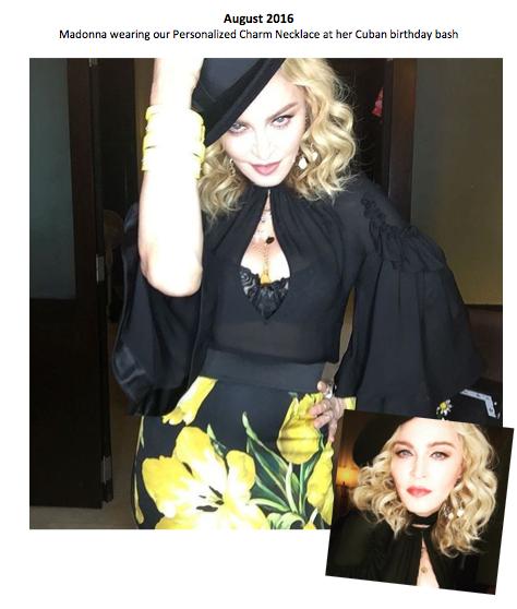 Madonna's Birthday Bash - August 2016
