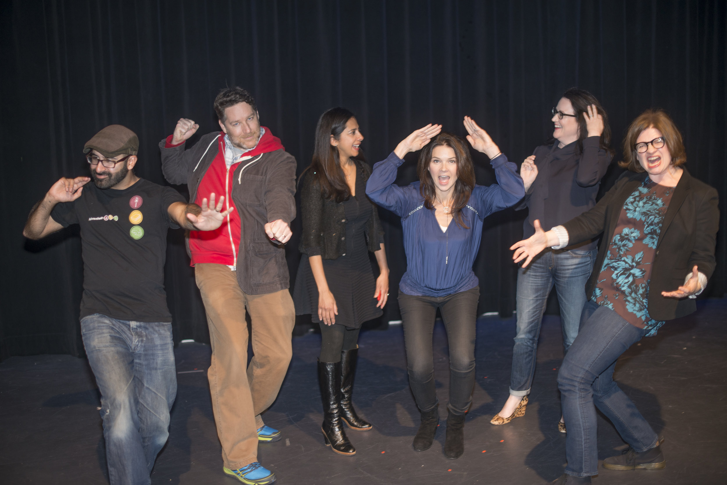 Eric Smith, Kevin Maher, Samira Ahmed, Amy Wilson, Helen Ellis and Emmy Laybourne got very aggressive before the show on January 19, 2017.