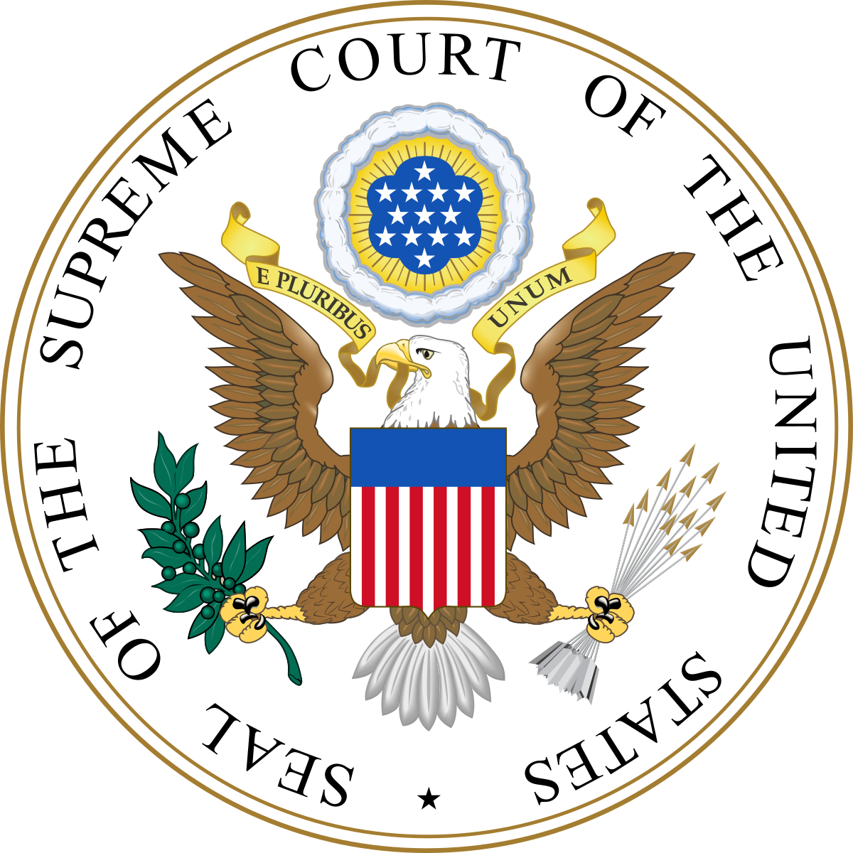 SEAL OF US SUPREME COURT