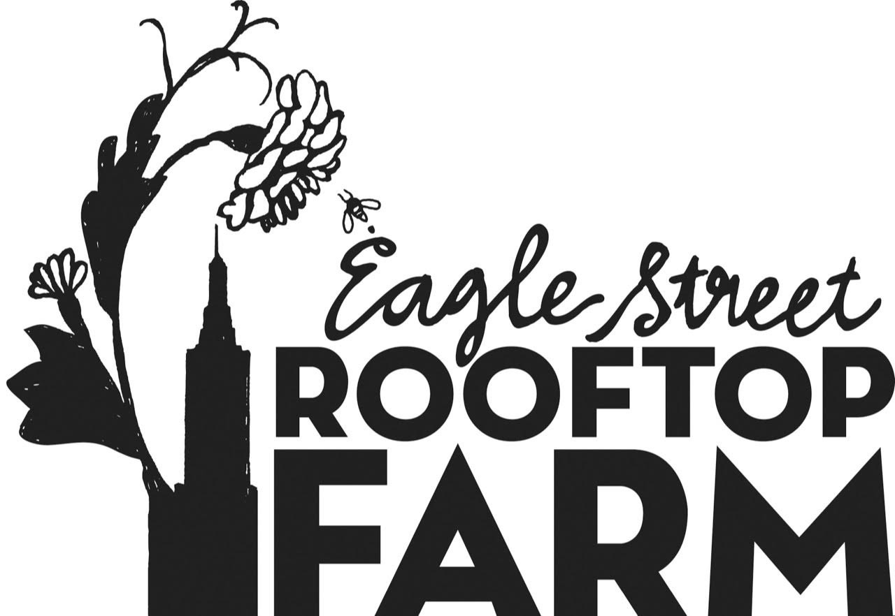 Eagle Street Rooftop Farm  is a 6,000 square foot green roof organic vegetable farm locates atop a three story warehouse. Since 2009 they've worked with chefs within the neighborhood as well as the community.