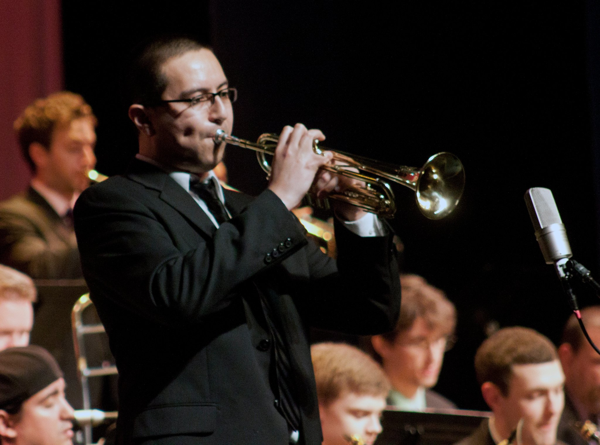 Ray Callender   Trumpeter / Educator   Click image to visit website.