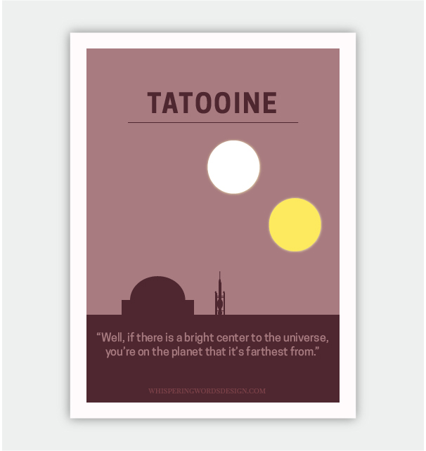 Tatooine: Binary Sunset