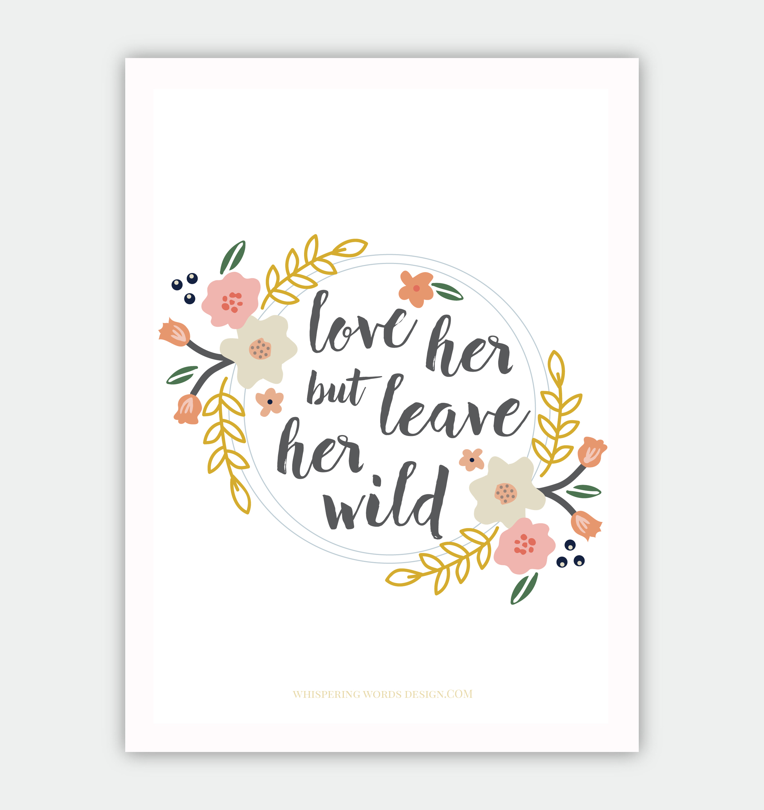 Love Her but Leave Her Wild