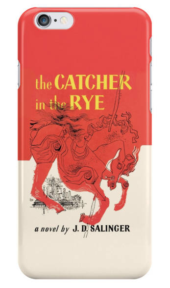 The Catcher in the Rye Cell Phone Case  from  Redbubble