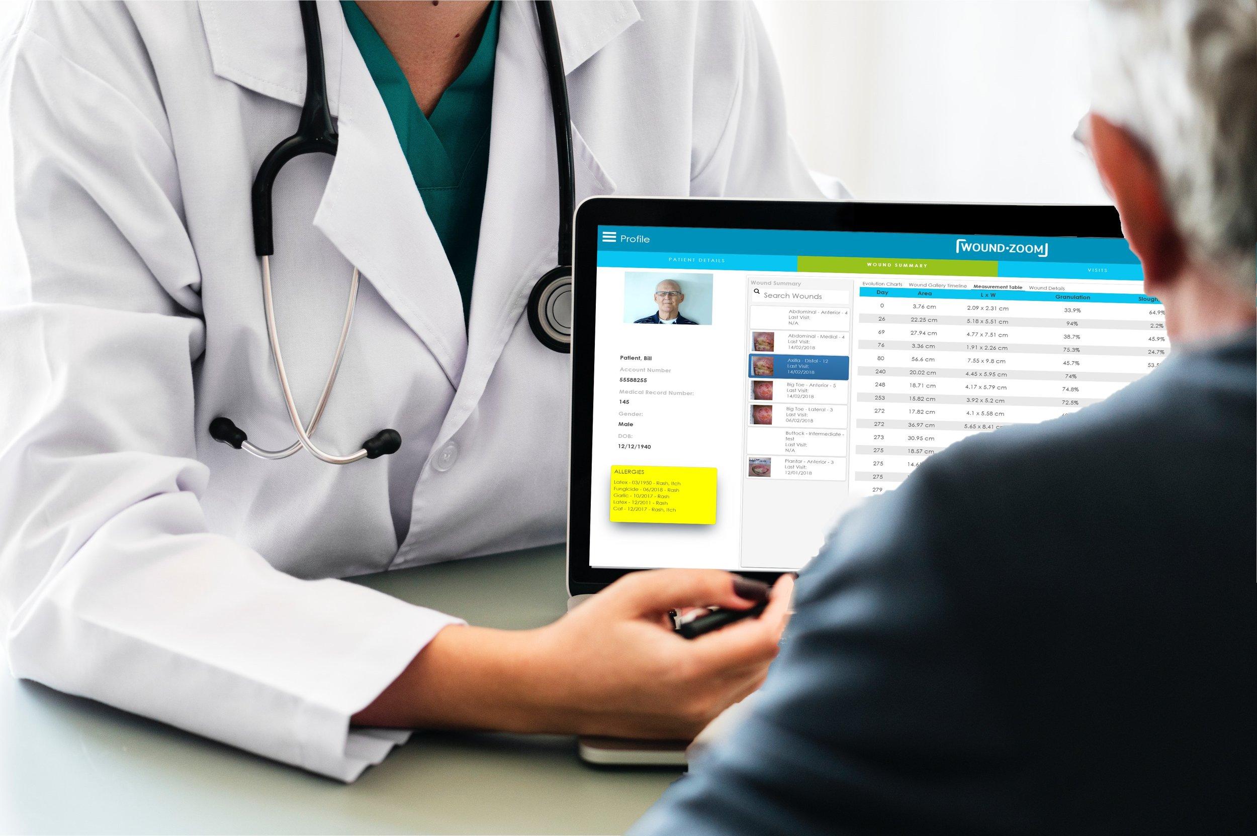 Wound Management EMR System Assessment