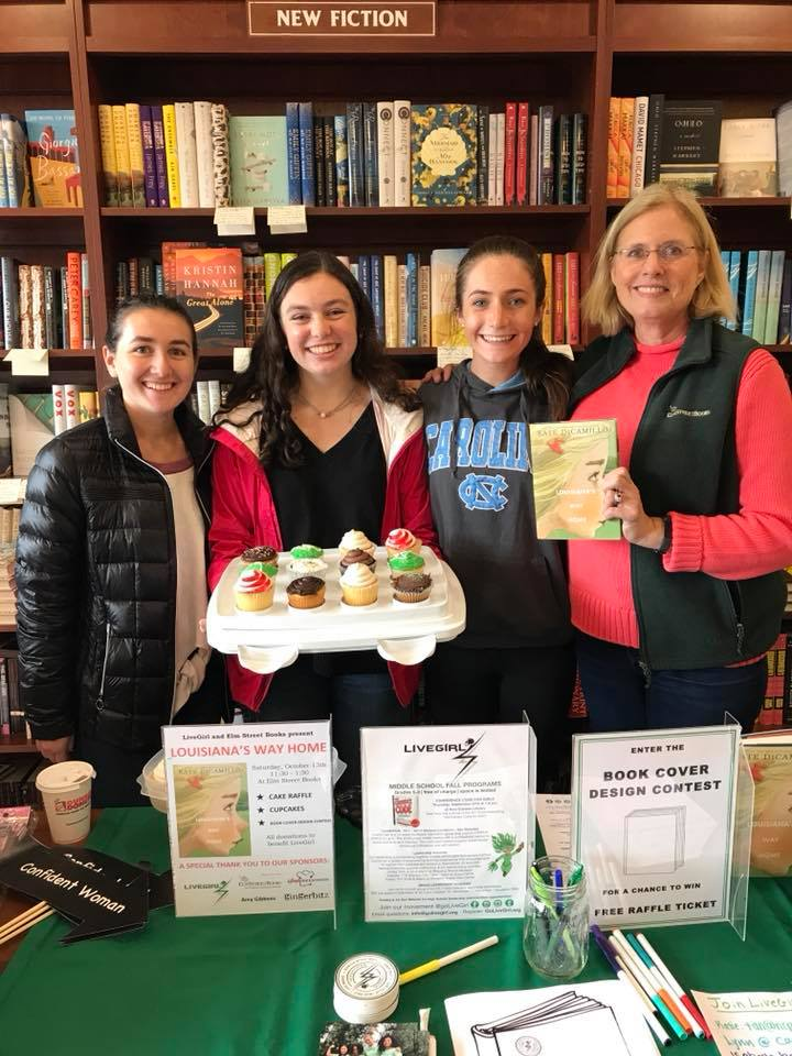 LiveGirls raise money for Youth Advisory Board projects. The Youth Advisory Board brings together high school girls to create positive change in their communities.