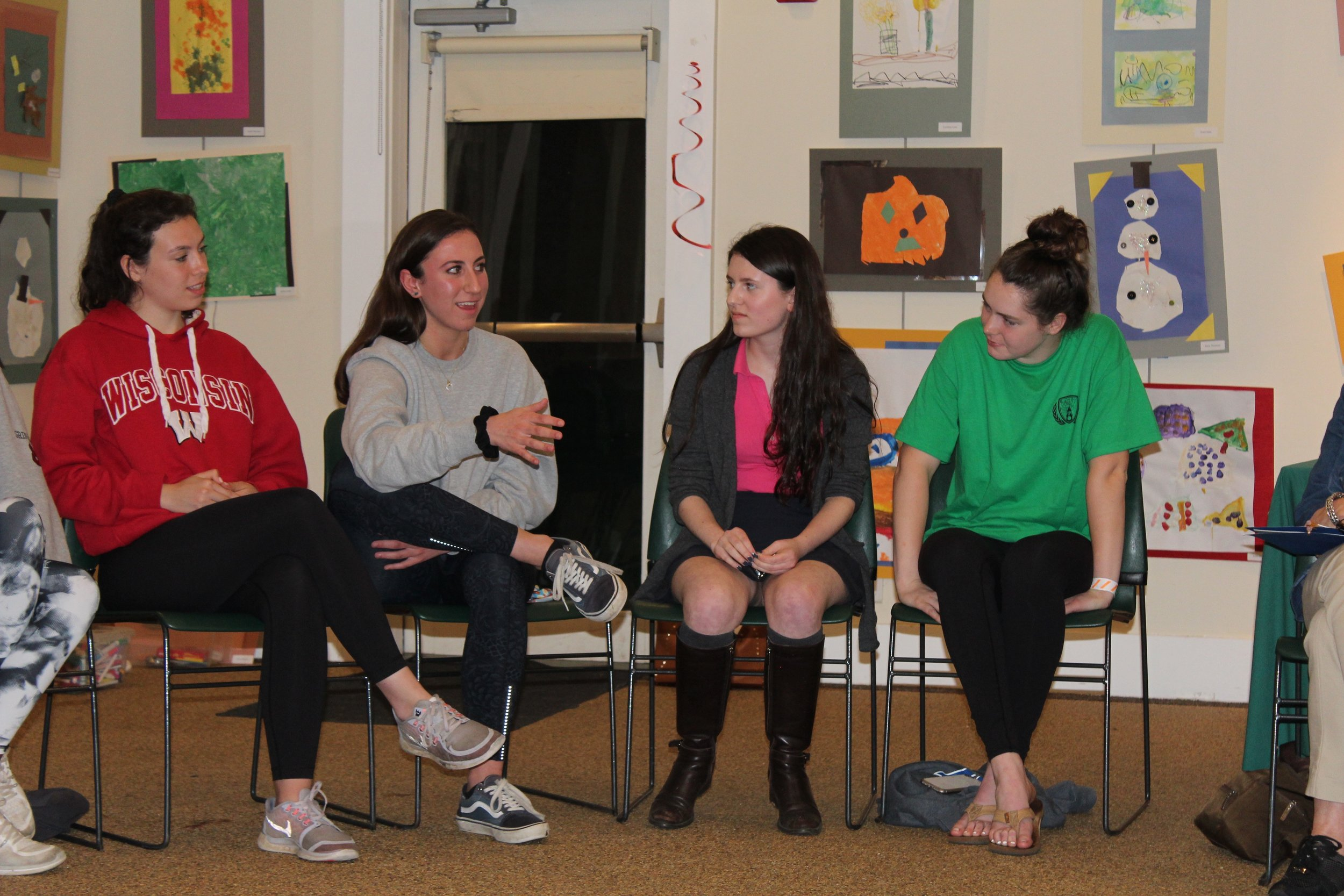 50+ high school LiveGirls discuss the issues that matter most to them.