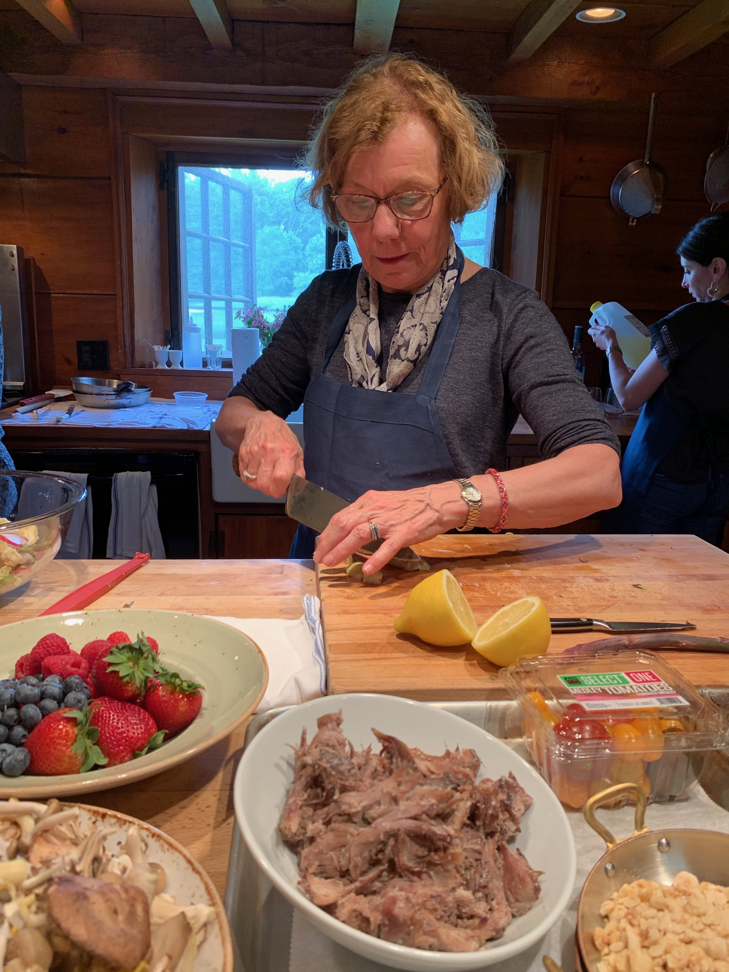 Cooking School at Saltbox Farm