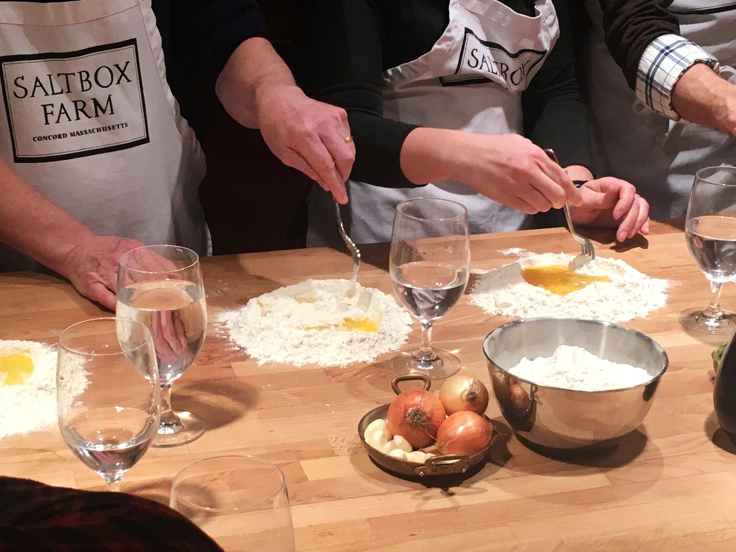 Saltbox Farm Cooking School