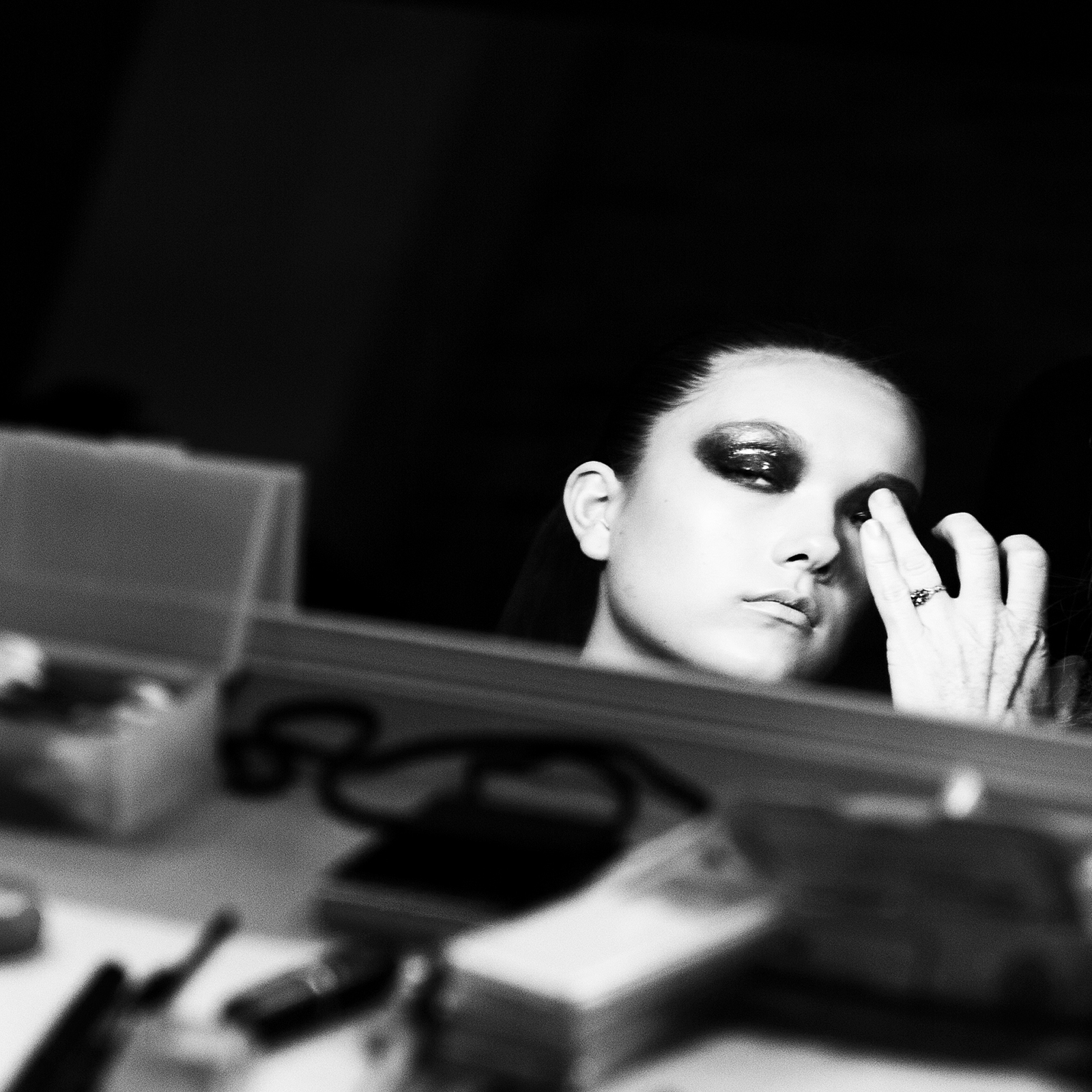 Yumi Lambert  Donna Karan Fall 2013 Show