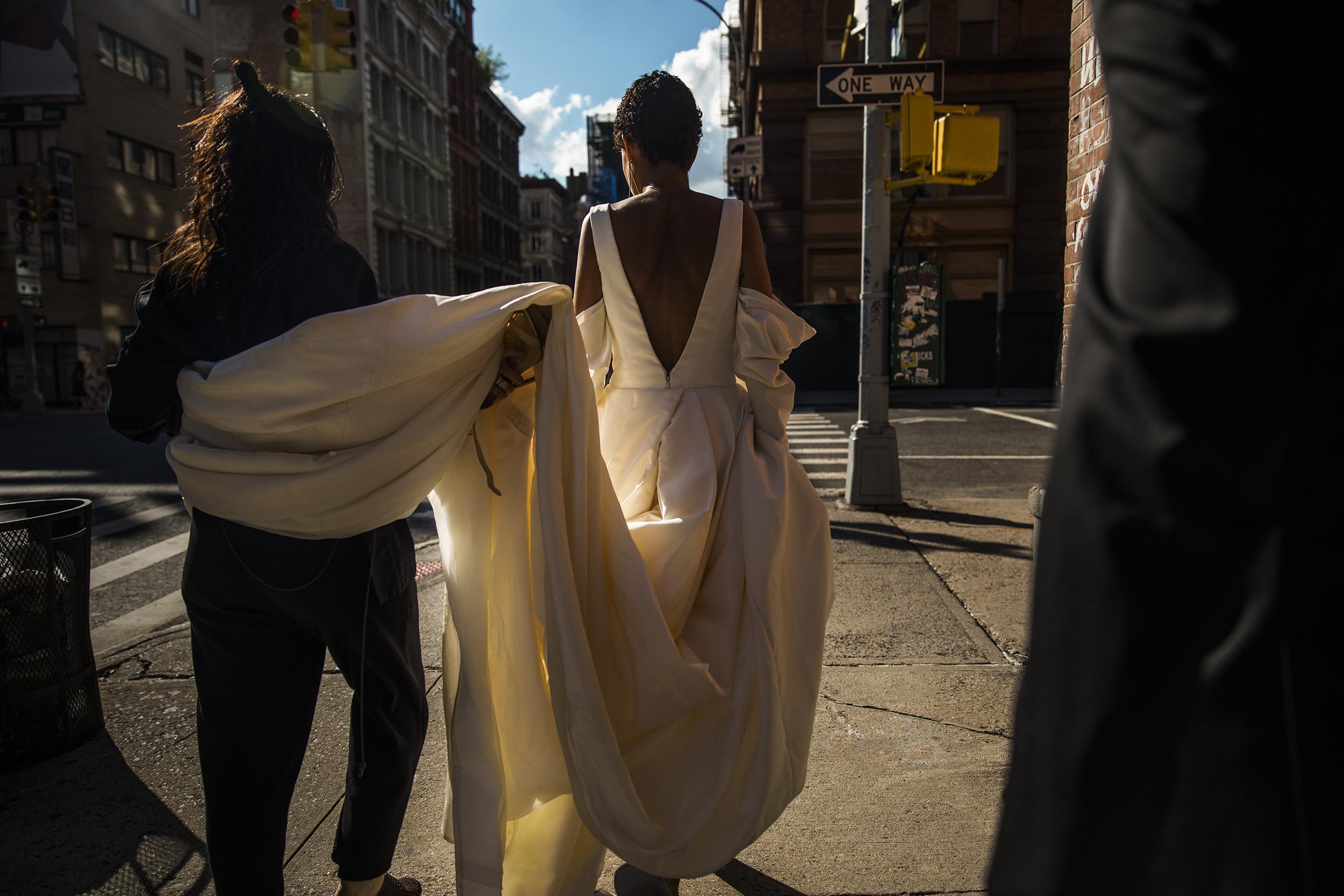 Selena Ayala & Sajjad Musa  Vera Wang Love Campaign, 2018