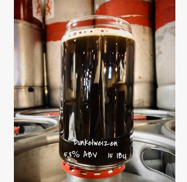 Coming this Friday! Our first Dunkelweizen! 5.8% ABV 15 IBU  Come check it out ;) #craftbeer #craftnotcrap #glendale #glendaleaz #azcraftbeer #azbrewery #drinklocal #drinklocalcraftbeer #supportlocal #brewery #dunkelweizen #dunkel