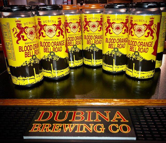 THE WHOLE MONTH OF JUNE! $10 4-pack 16oz cans. No limit. Come get 'em... #craftbeer #craftnotcrap #chooseazbrews #supportlocal #drinklocal #drinklocalcraftbeer #azbrewery #azcraftbeer #crowlers #ipa #bloodorange #dubinabrewing #dubinabrewingco