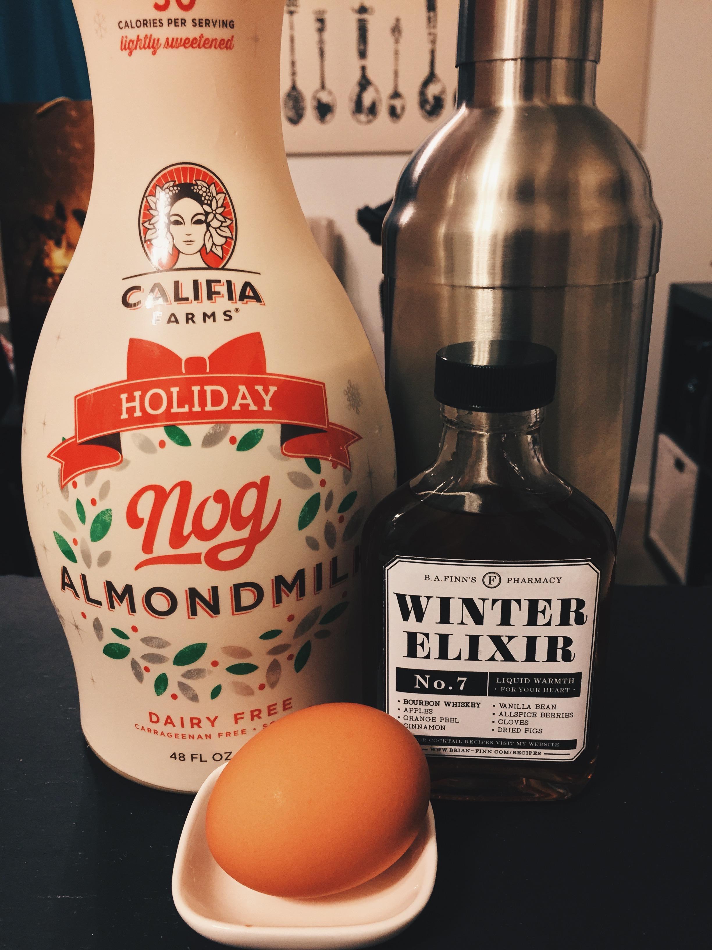 Winter Elixir Egg Nog -