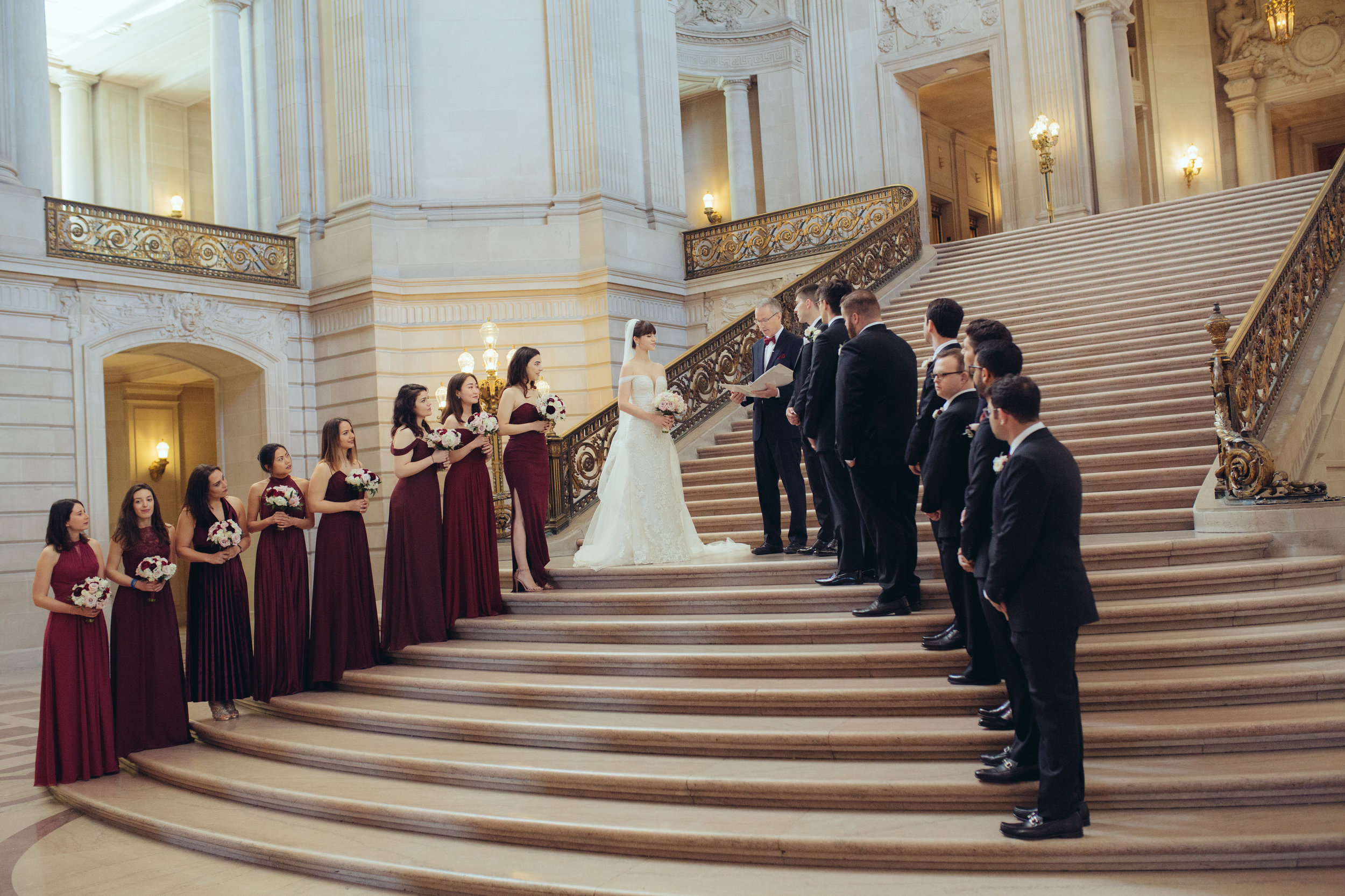 SF City Hall wedding photography_flowers_group.jpg