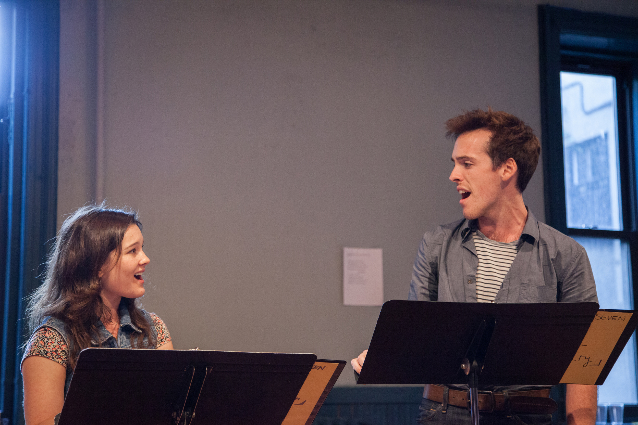 After Edgar - After Seven Festival at New Dramatists (left) © Rebecca Ashley Photography