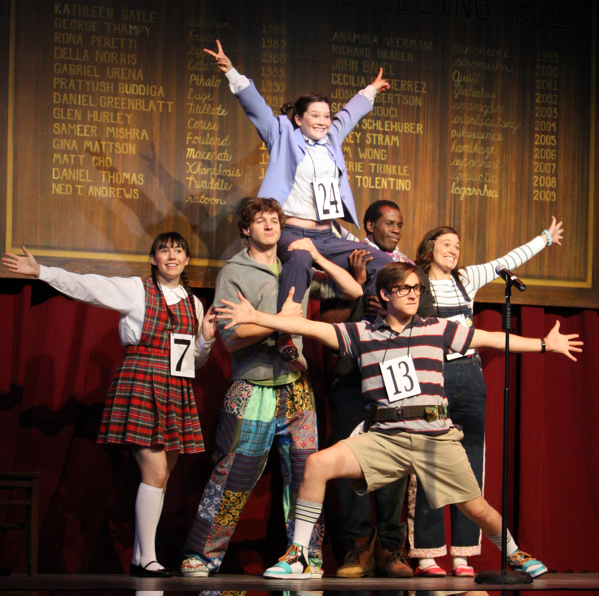 25th Annual...Spelling Bee - Summer Repertory Theatre (top) © Summer Repertory Theatre
