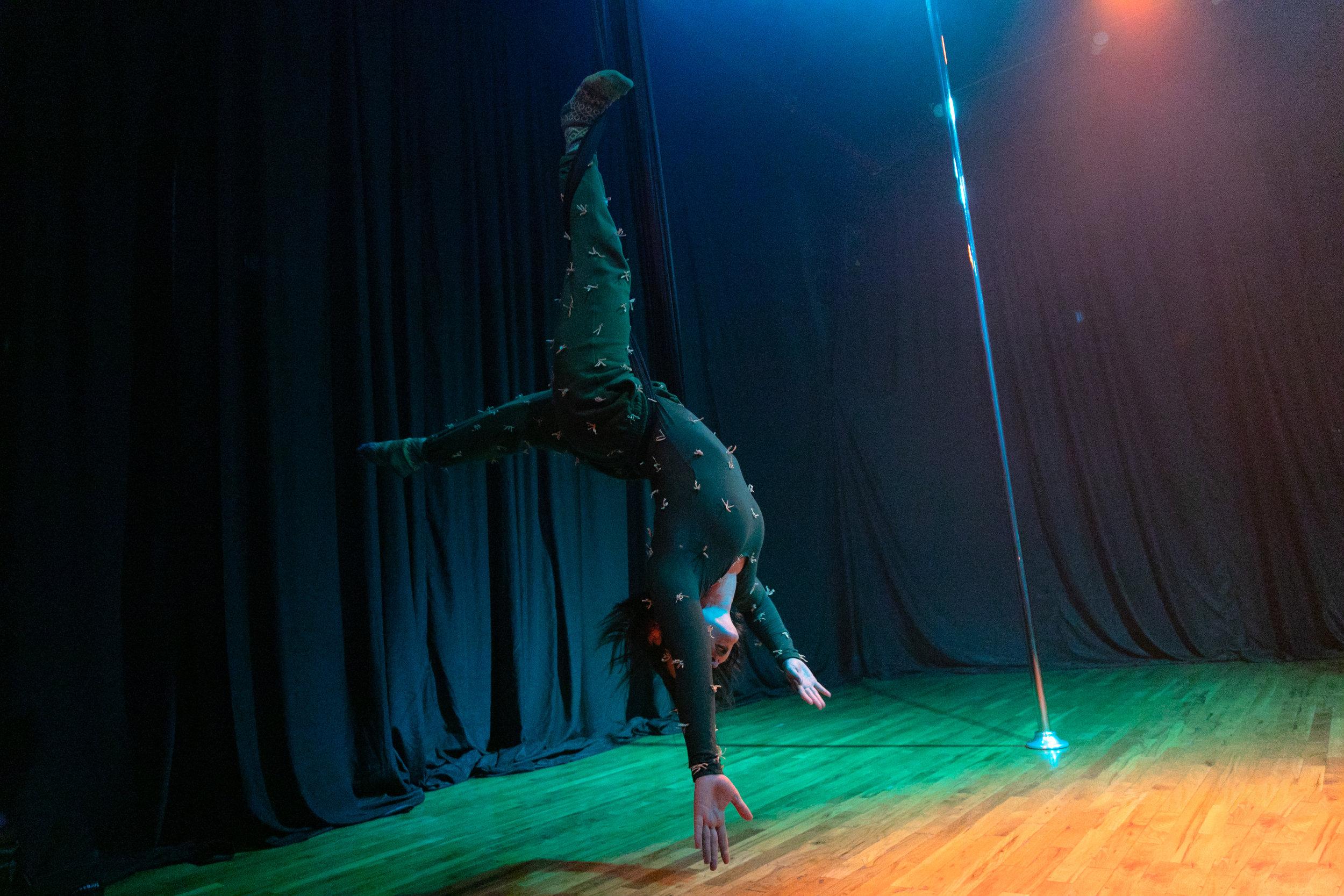 Wild Wild West: Body & Pole Showcase © Vades Joseph