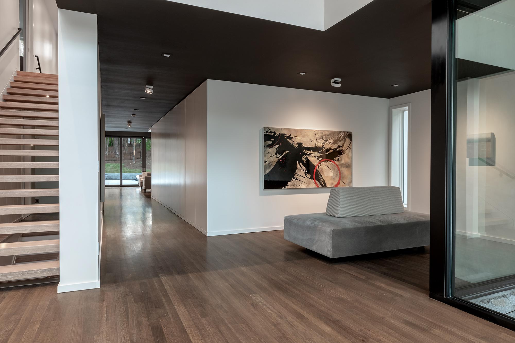 Modern Bolster for Art Gallery Entrance