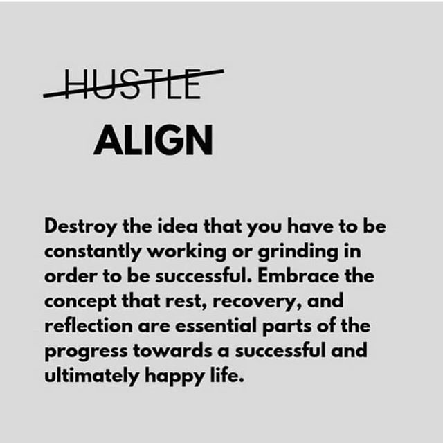 """👉👉👉Tell me if you relate.   Hustle has become a buzz word; even a mark of success. We've become a society that praises busyness and doing more. We""""re bombarded with messages that encourage us to compare ourselves to others and look outward for our guidance. Then we get into the """"hustle"""" taking actions that are too often rooted in fear of missing out or not being enough. We get caught in the """"should"""" trap rather than the aligning process.   What is alignment? Here's what I'm learning...  👉Do what brings me joy 👉Do what brings joy to others (simply) 👉 Practice gratitude.  👉 Choose daily to surrender fear and limitations.  👉 Take time to look within (sit quietly) 👉 Move my  body  👉 ask myself what happiness and success is to me. (Define the game I want to win at).   Continue to practice every day  👉 The above list 👉 self observation (my emotions will me how in alignment I am) 👉 Expand my comfort zone (Im committed to growing through small daily actions).   LOVE MYSELF.   👉👉How do you define happiness?  👉👉How do you define success?   SHARE ❤️❤️  👇  #happiness #success #anxiety #mindset #loveyourself"""