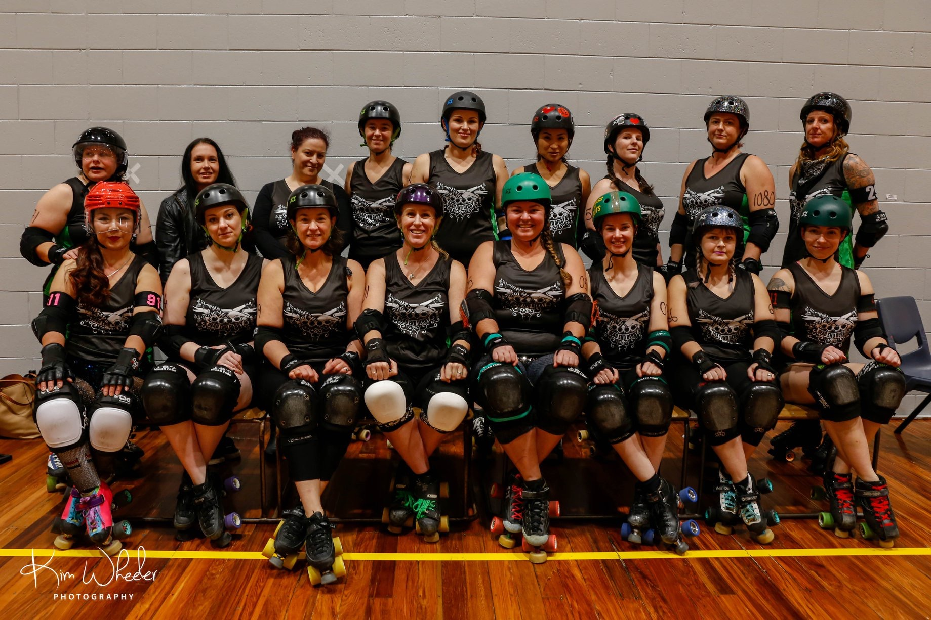 Dead End Derby's Living Dead Rollers team 2014