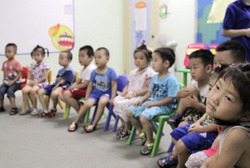 Chinese Children at York English in China | photo Credit: Greenheart Travel